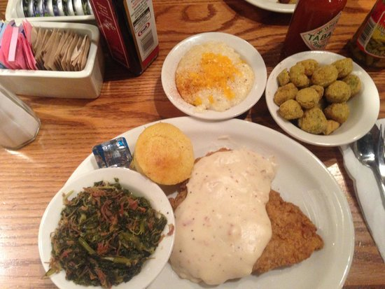Cracker Barrel: Chicken Fried Steak