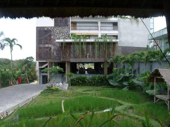 The Kirana Hotel Resto and Spa : reception