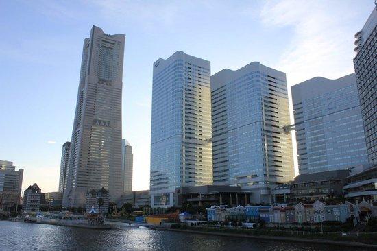 The Landmark Tower Yokohama Sky Garden : vista desde el exterior
