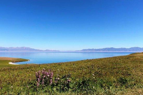 Sailimu Lake: Sayram Lake, Xinjiang Yili