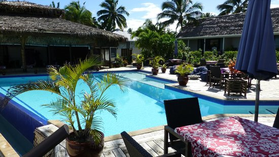 Manuia Beach Resort : Poolbereich