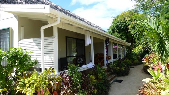 Manuia Beach Resort : Premium Garden Suites