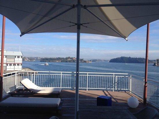Pier One Sydney Harbour, Autograph Collection: balcony of suite 216