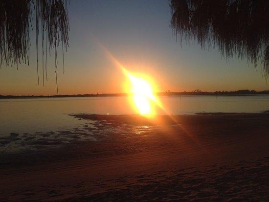 Sunrise at Broadwater Tourist Park