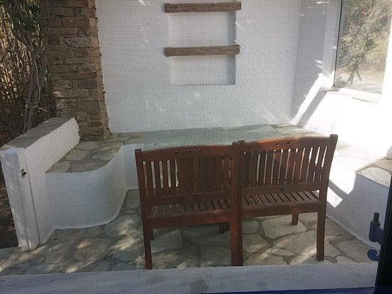 Golden Beach Hotel: Open Private Patio