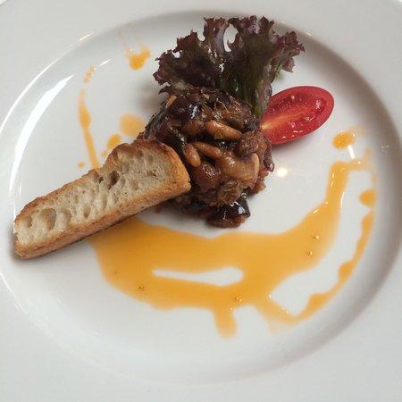 Bocca di Bacco: The zucchini.