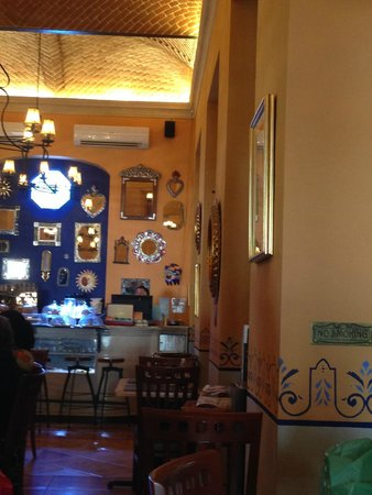 Hotel Casa San Angel: Restaurant del hotel