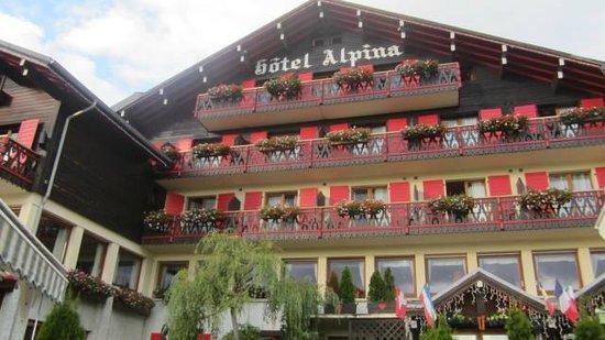 Hotel Alpina Picture Of ChaletHotel Alpina Les Gets TripAdvisor - Alpina hotel