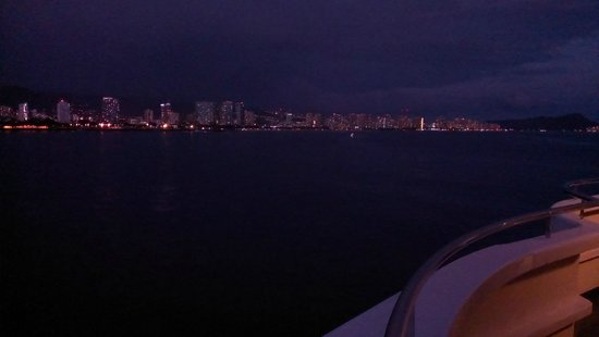 Star of Honolulu - Dinner and Whale Watch Cruises: one of the cool parts of the night