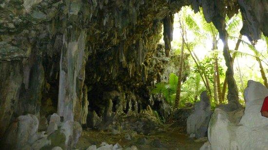 Anatakitaki Cave (Kopeka Cave): Am Rand der Höhle