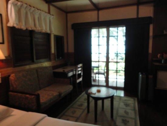Sipadan Mabul Resort : A nice sittingareal