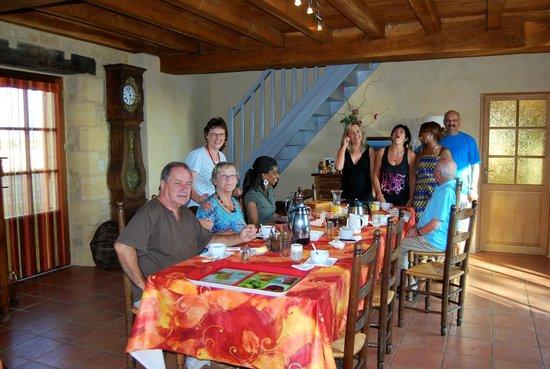 La Ferme de La Croix: salle à manger