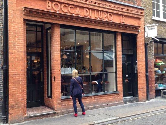 Bocca di Lupo : Restaurant frontage