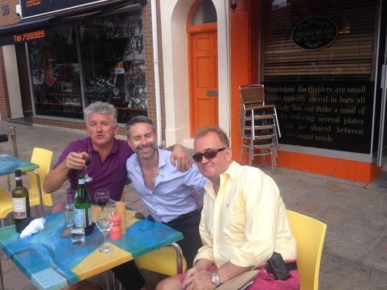 Vecchia Milano: Count Roberto David and Gwyn