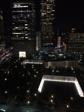 World Center Hotel: This is the view from the upstairs restaurant terrace