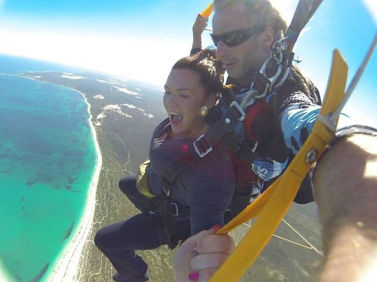 Skydive Jurien Bay Perth: Best day of my life. Celebrated by 23rd Birthday!!! :) 05/09/14