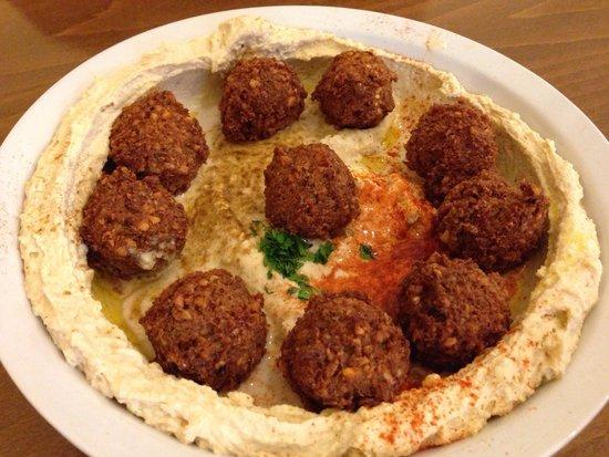 Hummusbar: Hummus falafel