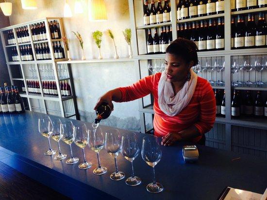 Sir Robert Stanford Wines: Terrific wine tasting