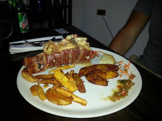 Restaurante San Jose: Lobster with besamel & brandy