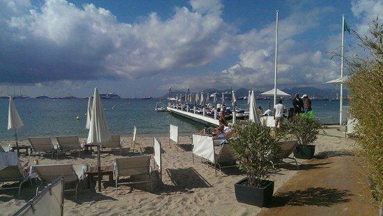 Grand Hyatt Cannes Hôtel Martinez : Beach