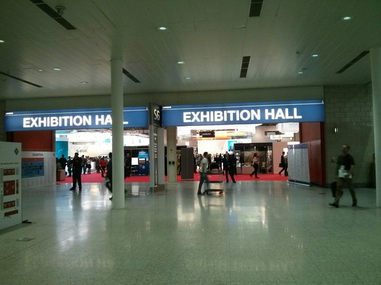 ExCeL London: The exhibition hall