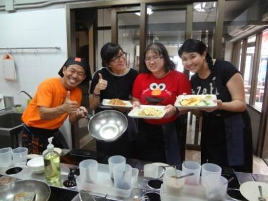 Pum Thai Restaurant & Cooking School: Our end products~