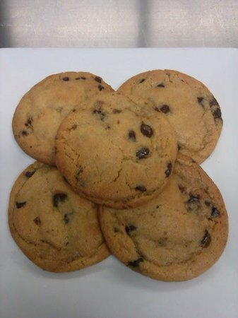 North Adams, MA: House Made Chocolate Chip Cookies