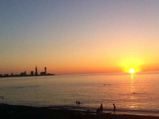 Hotel Sanapiro: Widok na Batumi