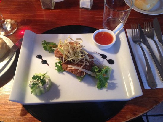 Oliver's Out of Town: Thai fishcakes