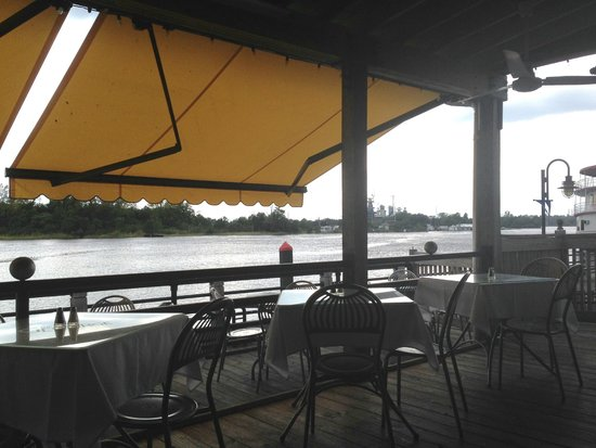 The George on the Riverwalk : View from The George