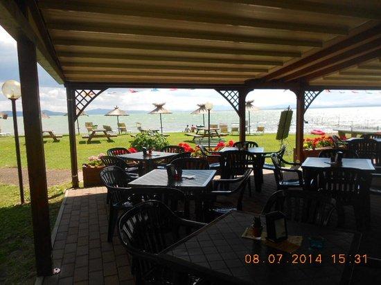 Camping La Spiaggia: The restaurant close up.