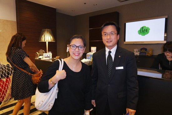 Best Western Hotel Nagoya: The Best Hotel Manager Ever!
