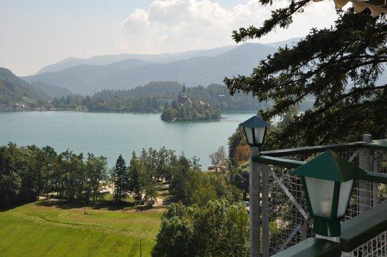 Hotel Triglav Bled: dal tavolo da pranzo