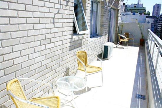 Arenales 2850: Terrace