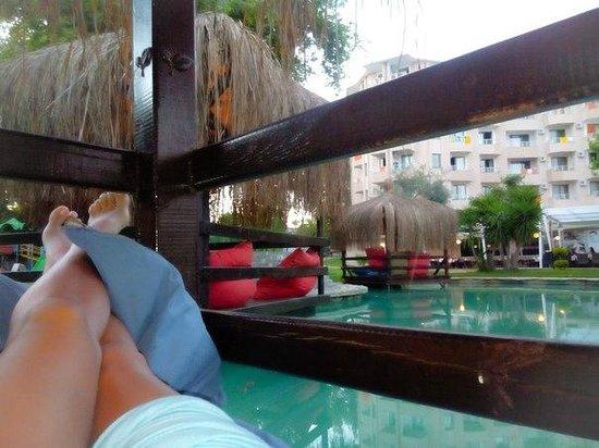 Aventura Park Hotel: Шалаши