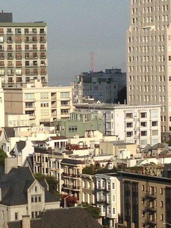InterContinental Mark Hopkins San Francisco: Golden Gate from room