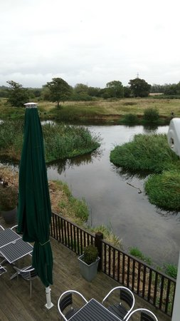 Bridge House Hotel: The view from our window