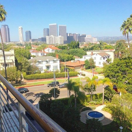Mr. C Beverly Hills: View from the 5th floor