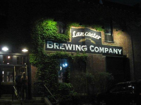 Lancaster Brewing Company: Großer Parkplatz vorhanden