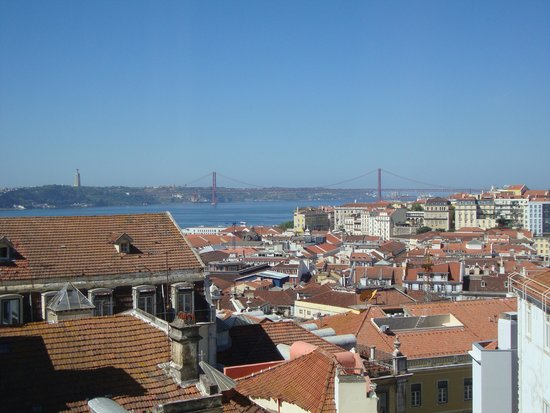Solar dos Mouros : Vue depuis la chambre