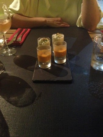 HANgoût Restaurant: Комплимент от щеф-повара