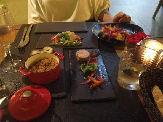 HANgoût Restaurant: Ассортимент закусок