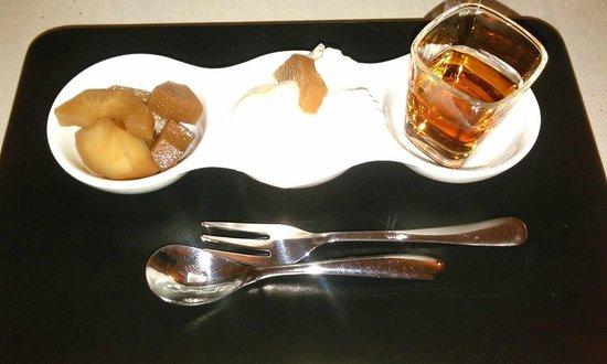 L'Angolo delle Fate: gelato con crema di gorgonzola