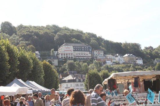 Panorama Hotel: Hôtel vu de la Ville