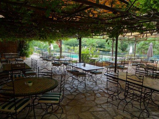 Hotel de la Source : Terrasse pour le repas