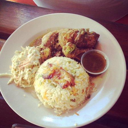 Cozy Corner : Curry Chicken -Lunch Special...Yum
