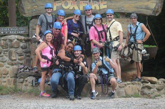 Foxfire Mountain Adventures: Yes !!