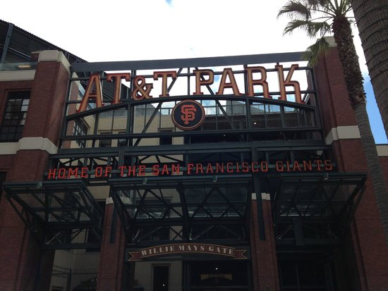 AT&T Park: Entrance to the park.