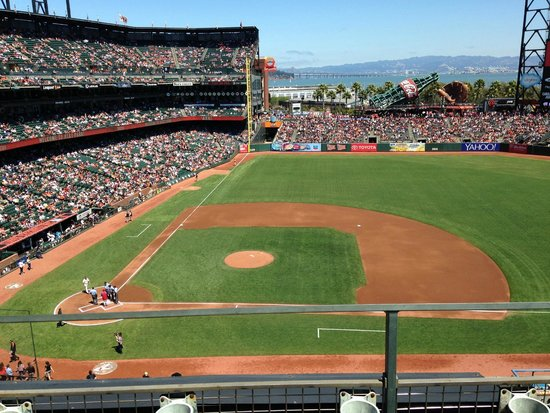 AT&T Park: Play ball!