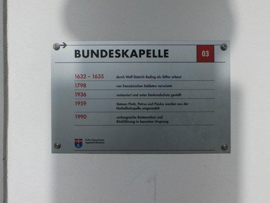 Bundeskapelle Brunnen: Marker